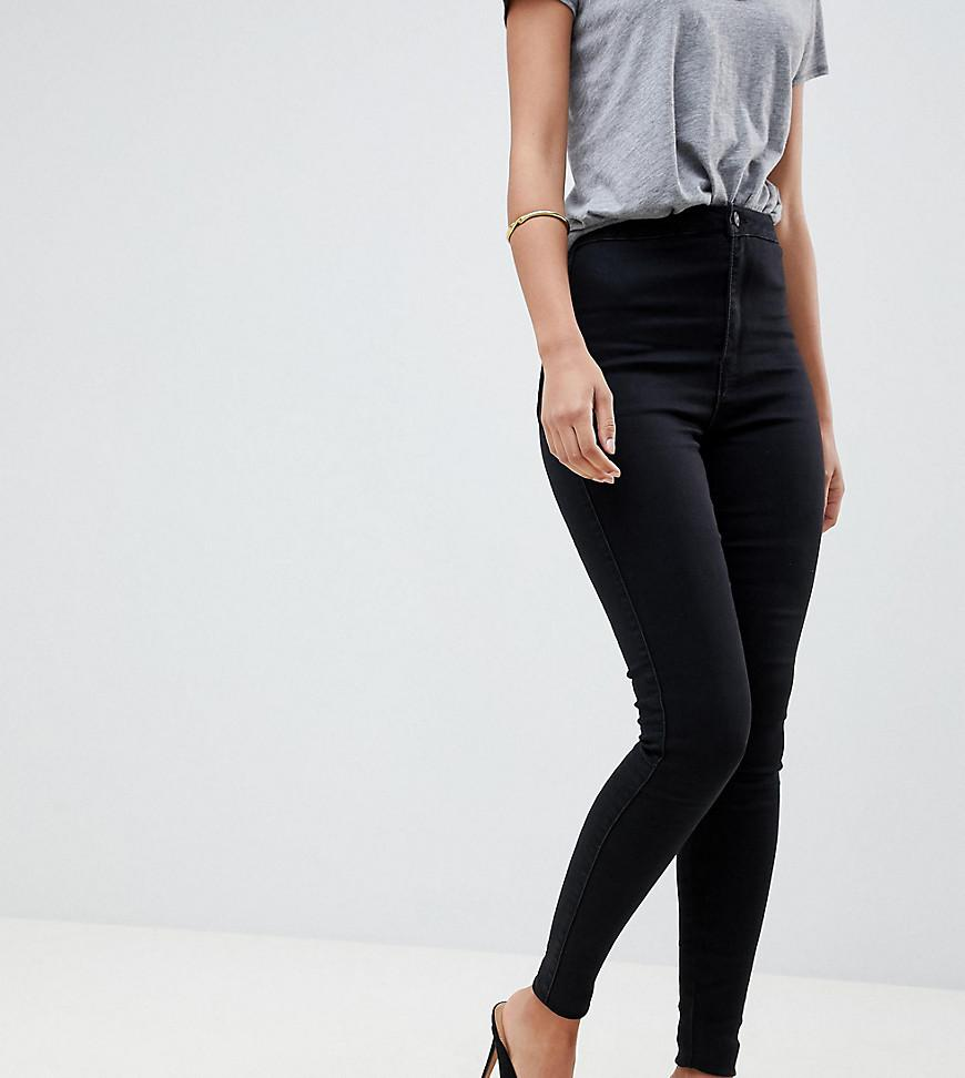 888444cc164 Missguided. Women s Vice High Waisted Super Stretch Skinny Jean In Black