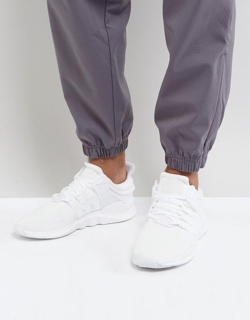 adidas white trainers eqt