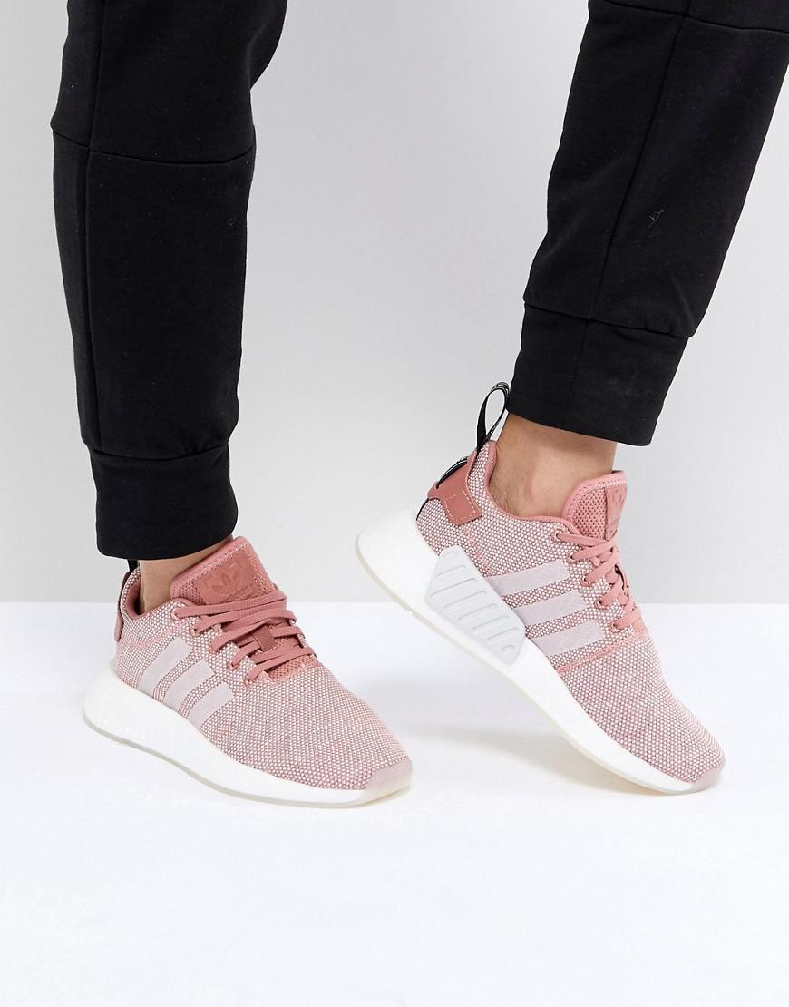 df309b87509d0 Lyst - adidas Originals Nmd R2 Sneakers In Pink in Pink