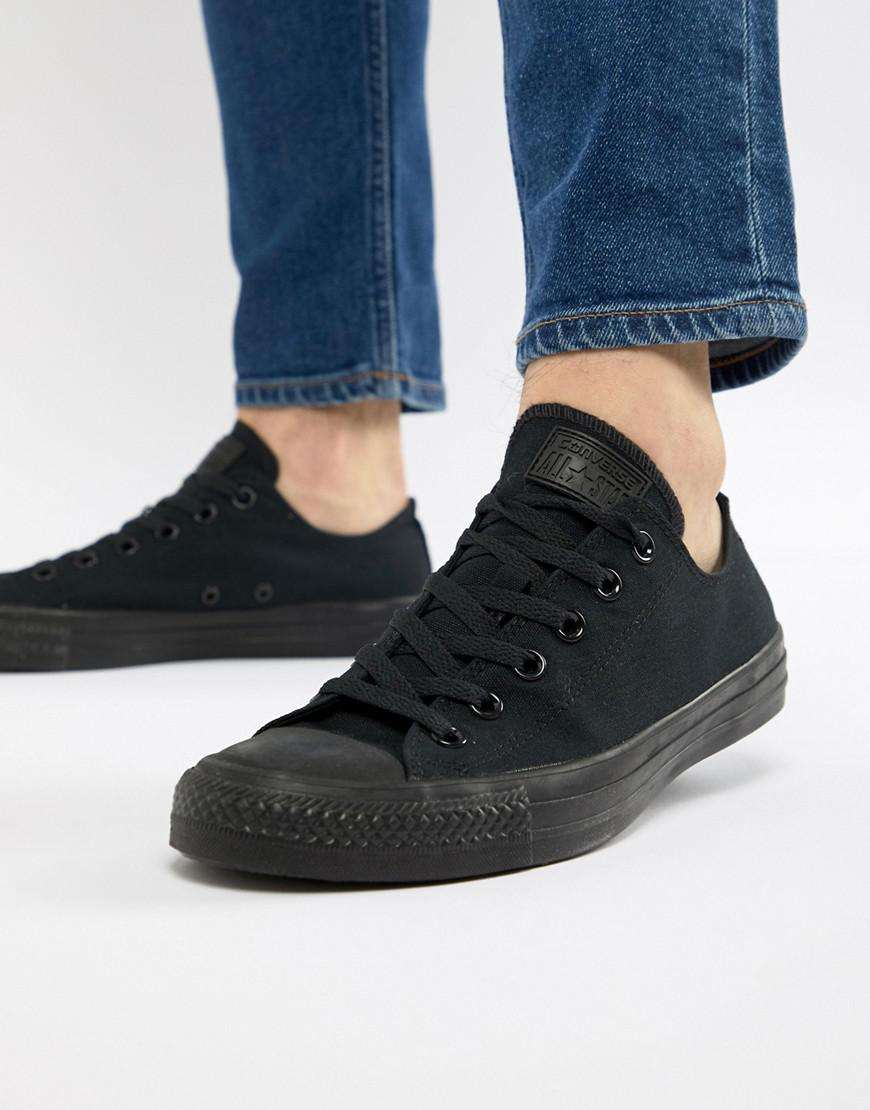 a2219729722 Converse All Star Ox Plimsolls In Black M5039c in Black for Men - Lyst