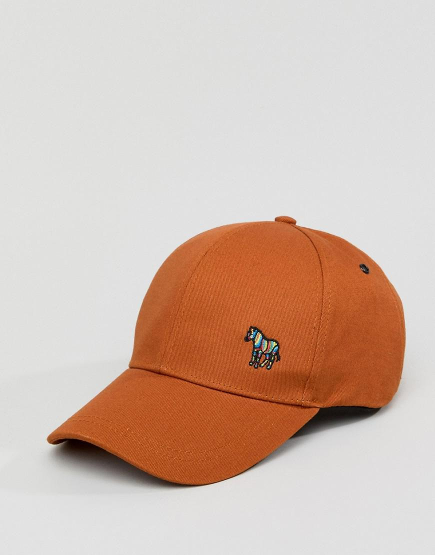 PS by Paul Smith Zebra Logo Baseball Cap In Tan in Brown for Men - Lyst 88770aeee1e1