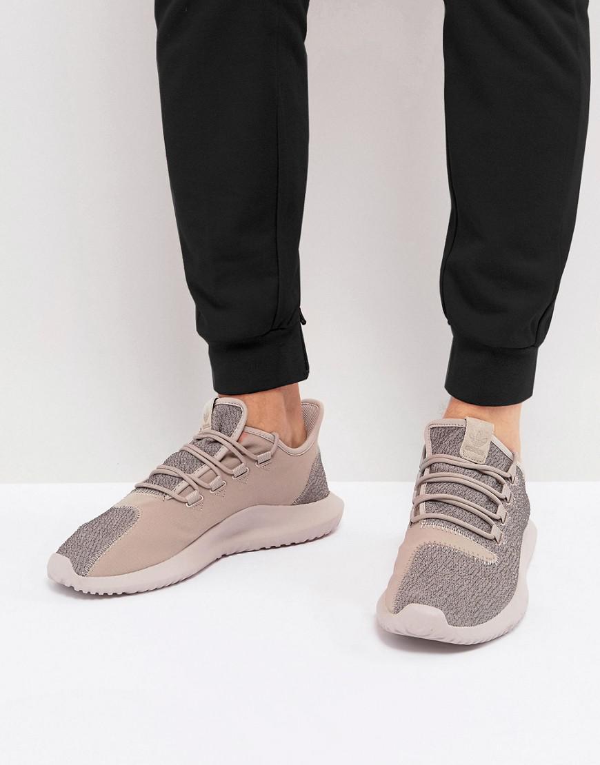 lyst adidas originals tubuläre schatten sneakers in beige by3574 in