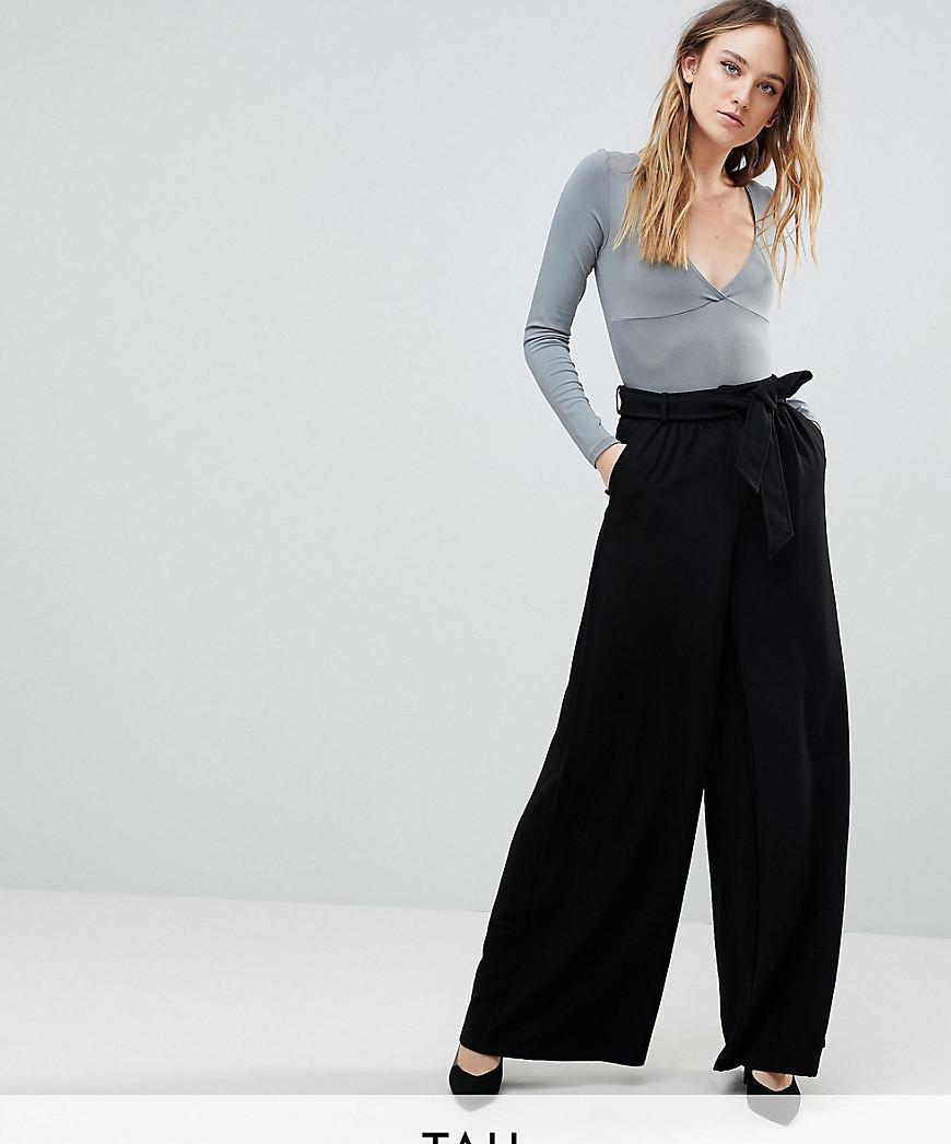 Bloom Print Wide Leg Trouser - Black Y.A.S Pay With Paypal Online t6BqTHP3c
