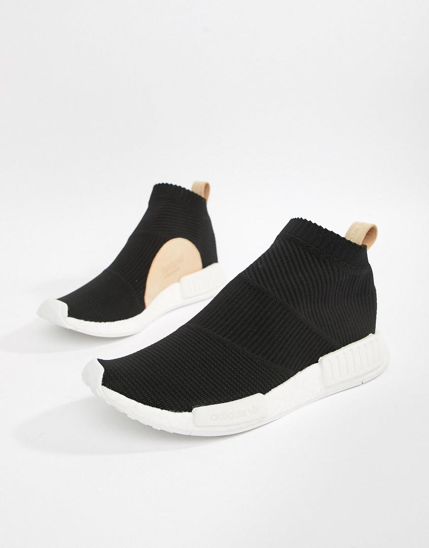 31e3b2a812c5d1 Lyst - adidas Originals Nmd cs1 Pk Trainers In Black Aq0948 in Black ...