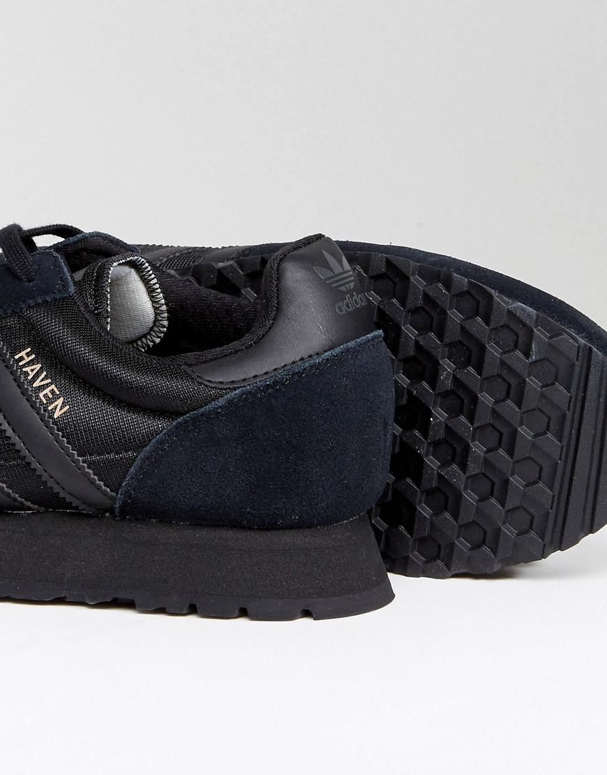 adidas originals haven trainers in black by 9717