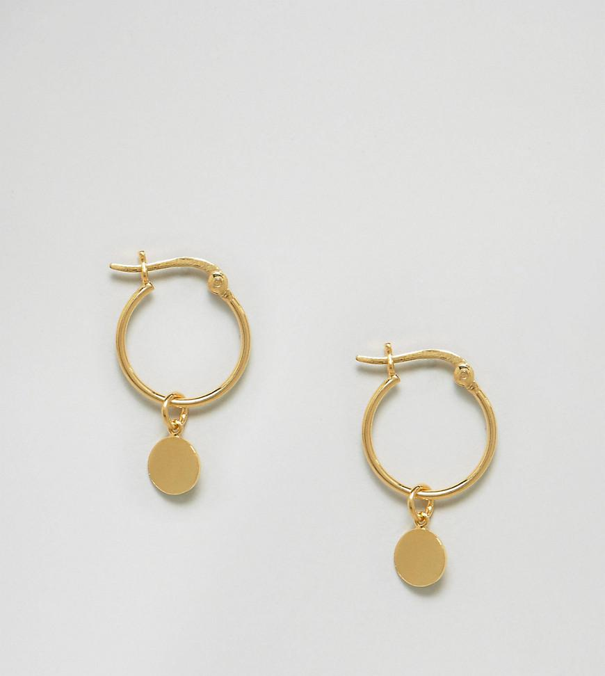 Gallery Previously Sold At Asos Women S Gold Hoop Earrings