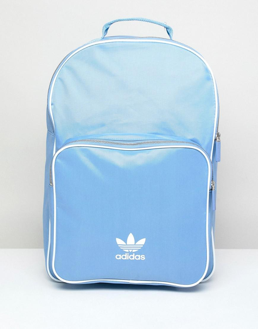 adidas Originals Adicolor Backpack In Blue Cw0631 in Blue for Men - Lyst 21c9c47b69dd2
