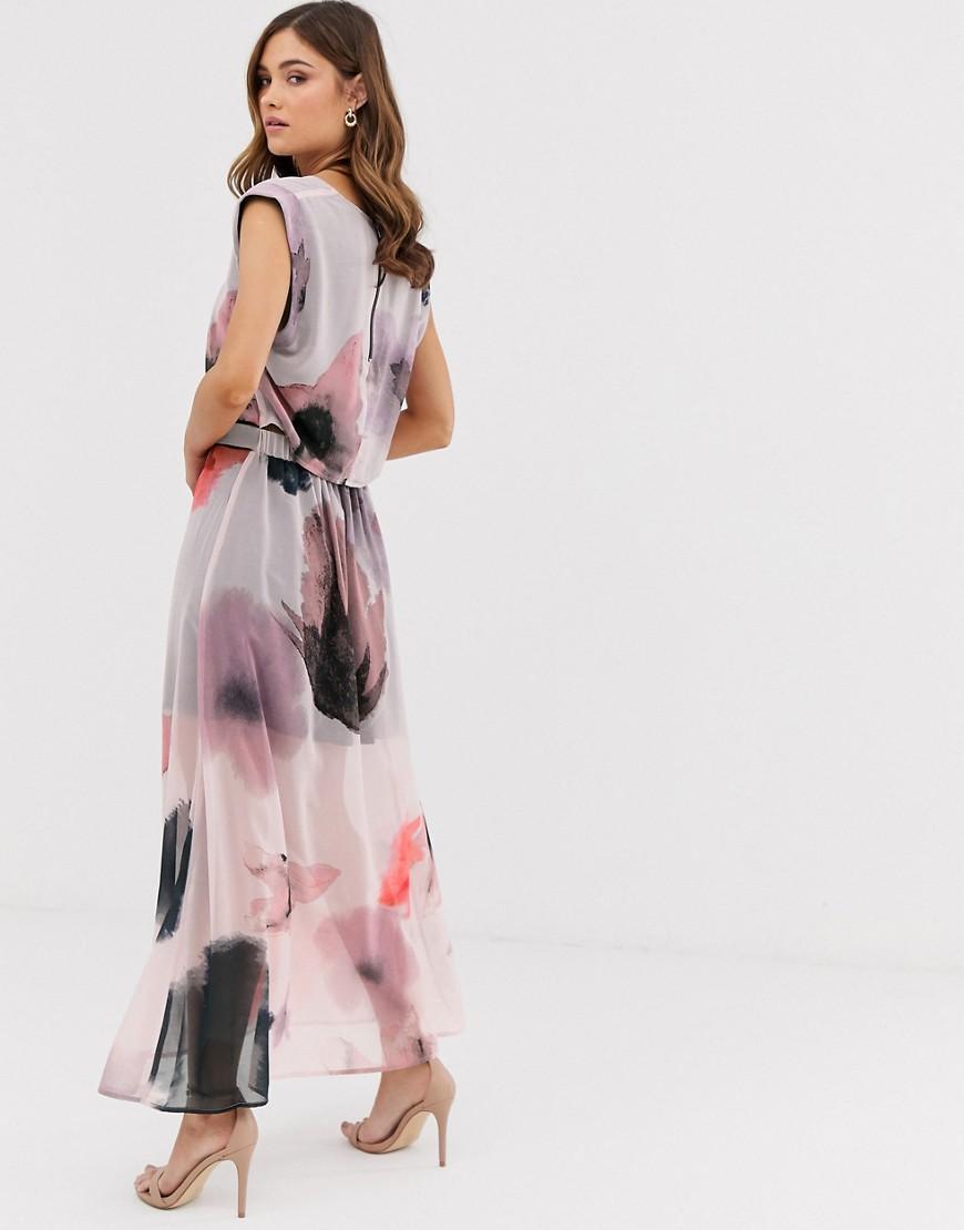 da09652da2 Religion Relaxed Midi Dress With Drop Waist in White - Lyst