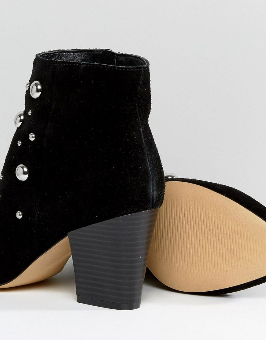 Able Leather Studded Boots - Black Office In China Sale Online High Quality Cheap Online kooCKd
