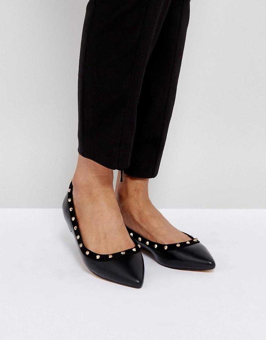 Flat Point Shoe - Black Kurt Geiger lTmrISD