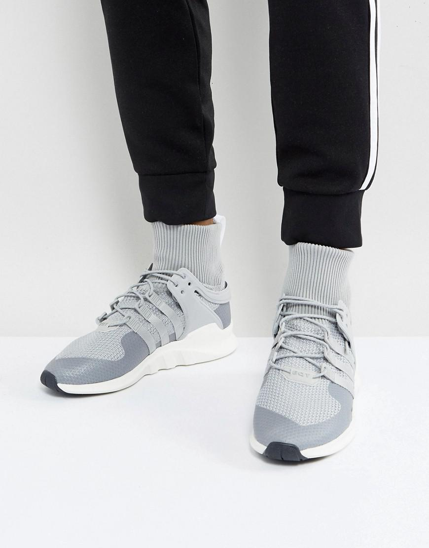 adidas eqt trainers for men grey