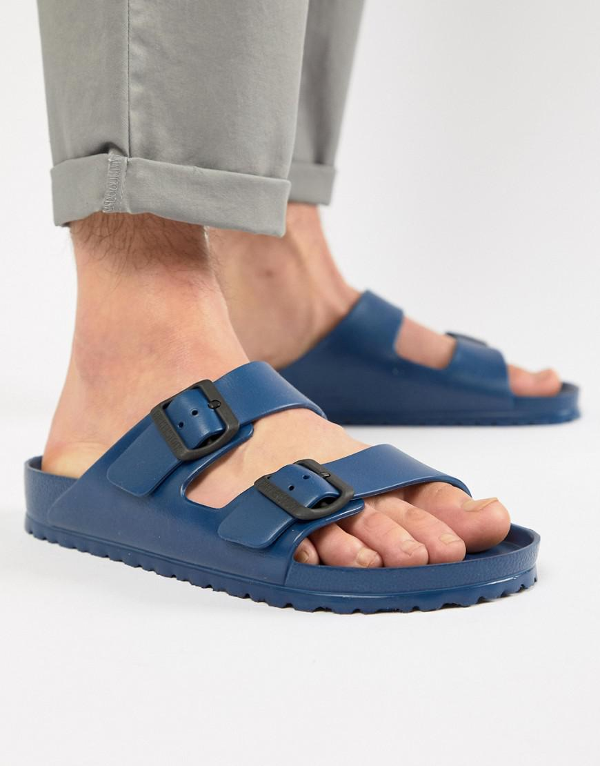 cea8641a3e351 Birkenstock Arizona Eva Sandals In Navy in Blue for Men - Lyst