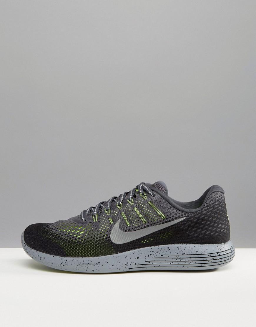 fe05a8c576d6 Nike Lunar Glide 8 Shield In Grey 849568-007 in Gray for Men - Lyst