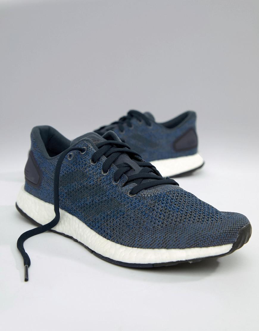 0852743d48005 Lyst - adidas Running Pureboost Dpr In Navy Bb6293 in Blue for Men