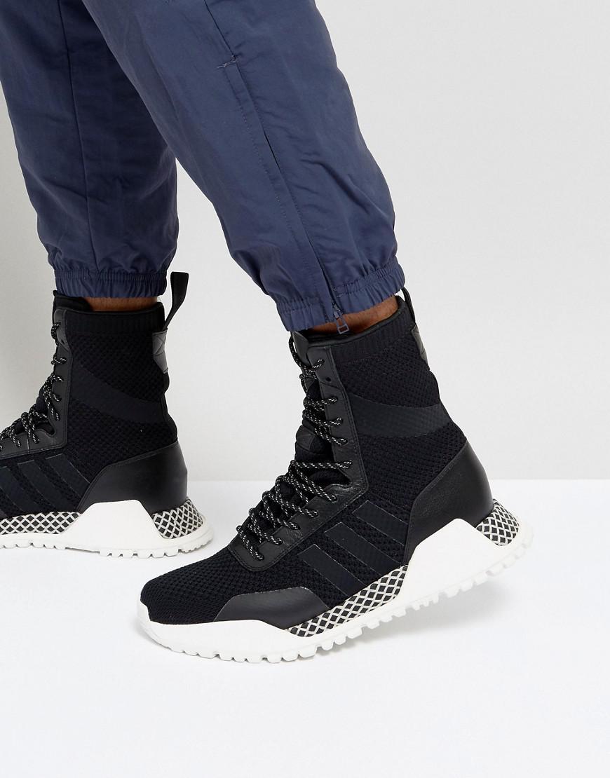 H.F/1.3 Primeknit Trainers In BlackBY9781 - Black adidas Originals BJfhWy1zd