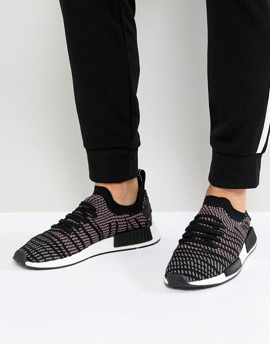 0f3ea88a6 adidas Originals Nmd R1 Stlt Trainers In Black Cq2386 in Black for ...