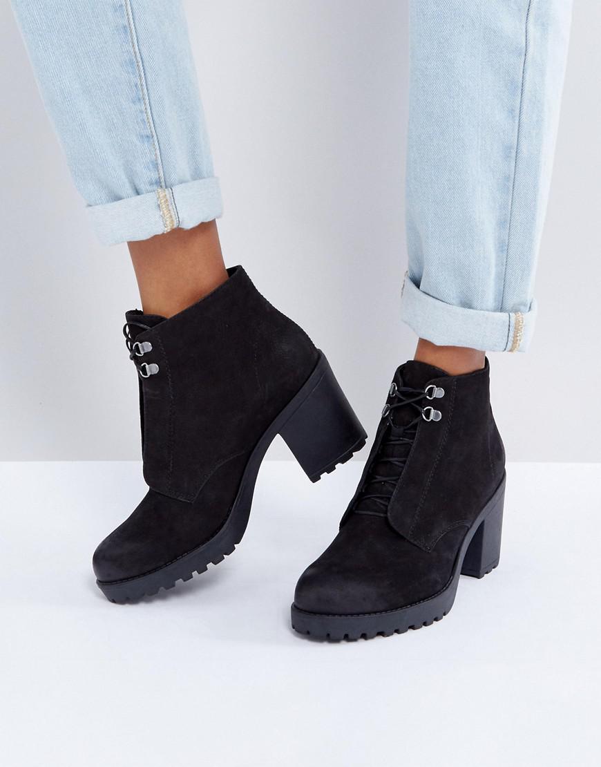 VagabondGRACE - Platform boots - black O8faCIJlR