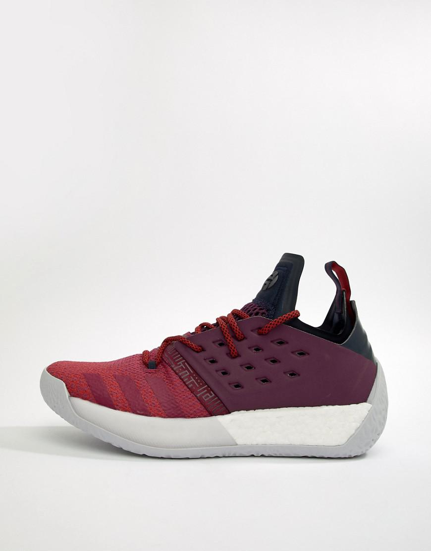 465df0d2b24c Lyst - adidas Basketball X Harden Vol 2 All American Sneakers In Red ...
