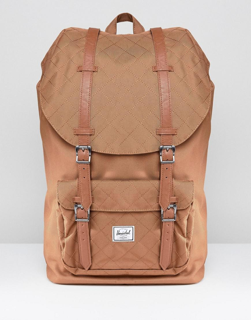Lyst - Herschel Supply Co. Little America Backpack Quilted 25l in ... 106c3007d5