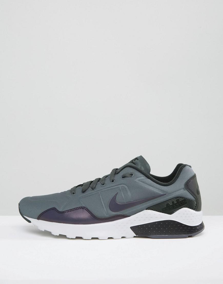 841bf29b6ba Nike Air Zoom Pegasus 92 Premium Trainers In Grey 844654-004 in Gray ...