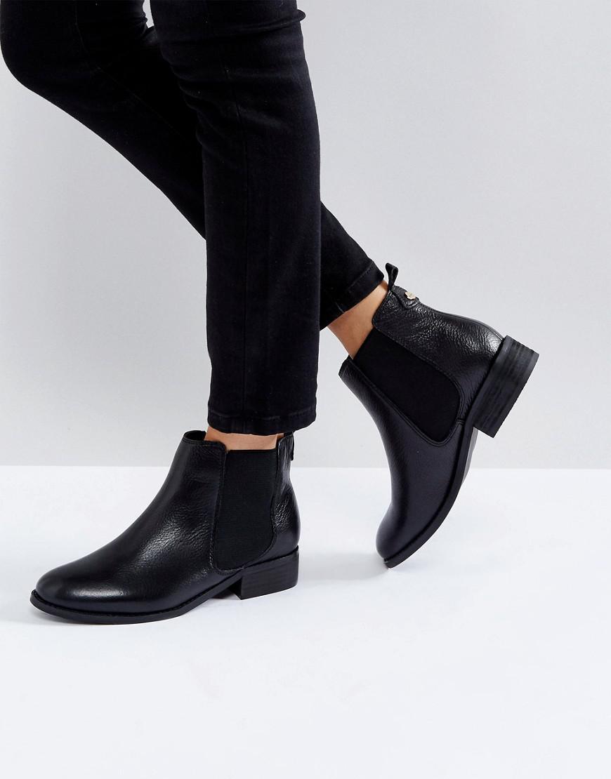 Carvela Kurt Geiger Leather Chelsea Boots in Black Lyst
