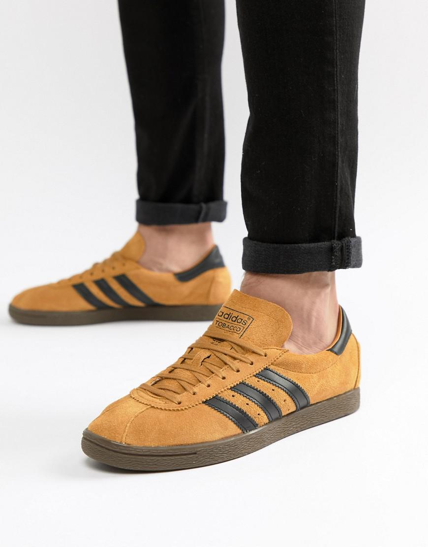 Lyst - adidas Originals Tobacco Sneakers In Yellow Cq2761 in Yellow ... cbdaf69258589