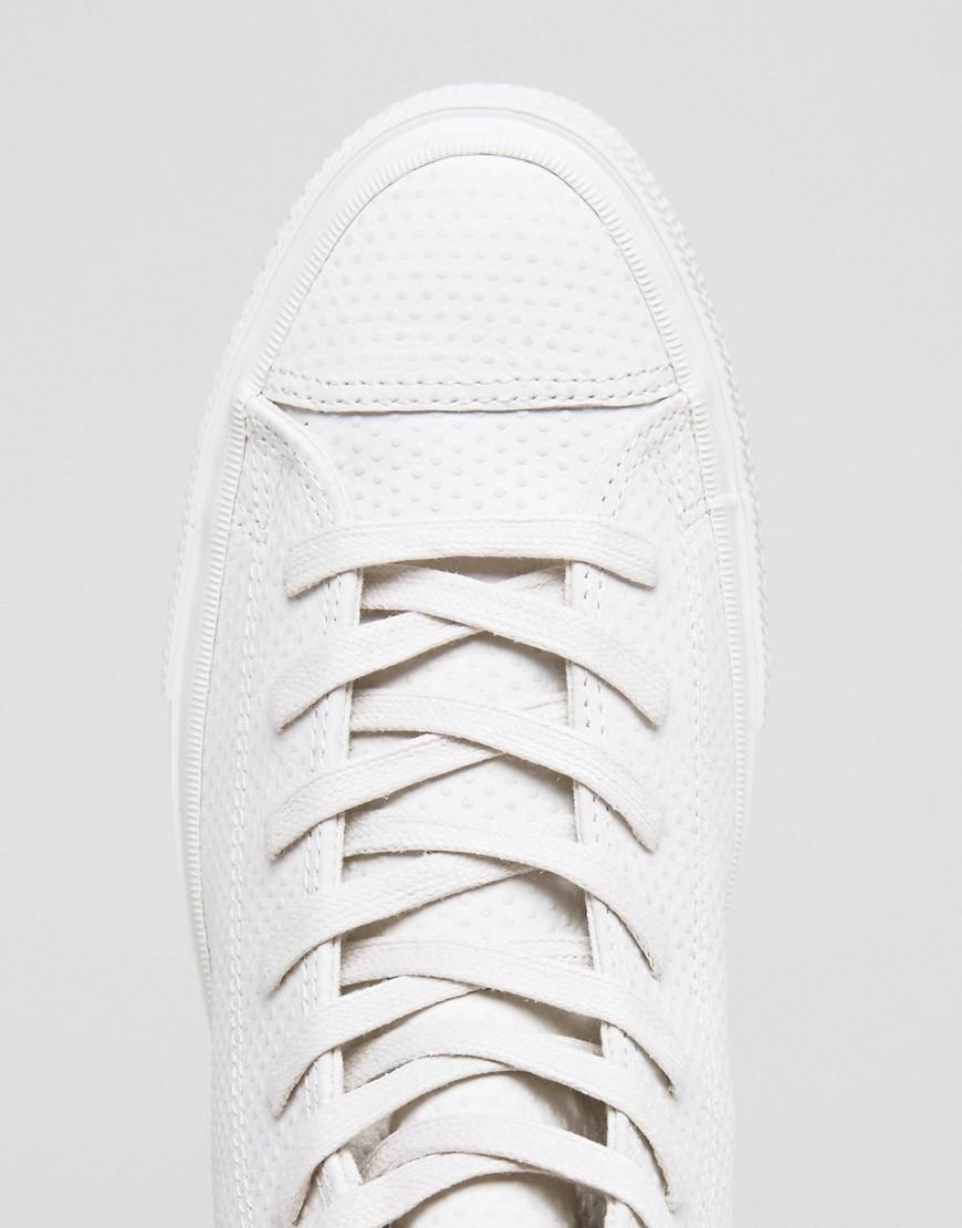128878aa4a3 Lyst - Converse Chuck Taylor All Star Ii Hi Sneakers In White ...