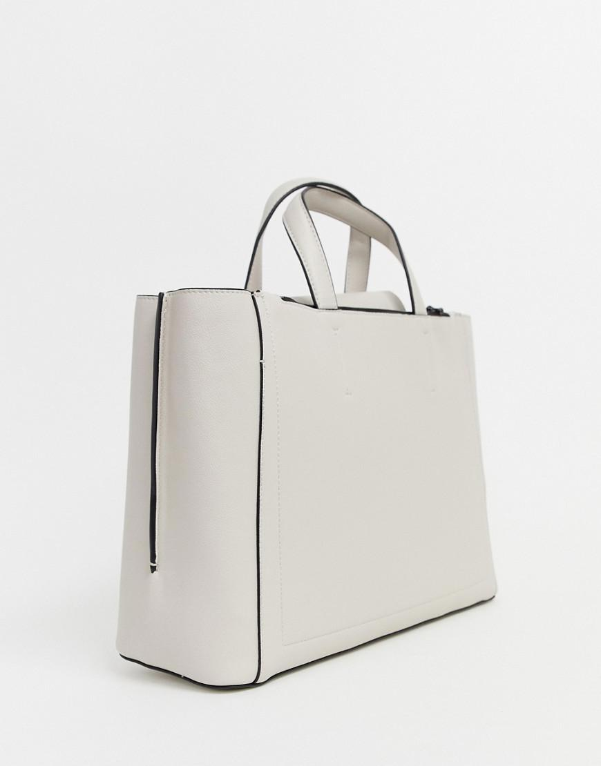 757df925e952 Calvin Klein Metropolitan Tote Bag in Natural - Lyst