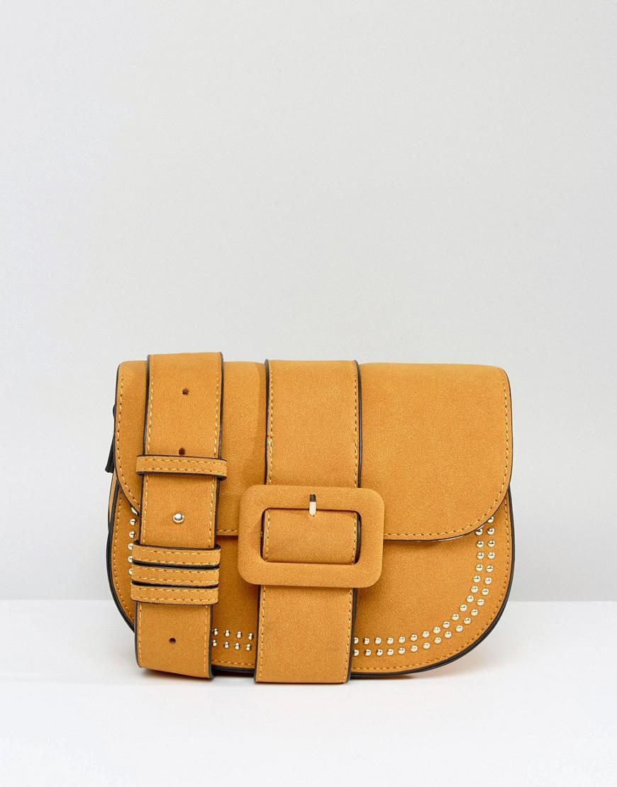 Yoki Buckle Front Saddle Bag - Yellow Yoki Fashion bOkKM2xWT