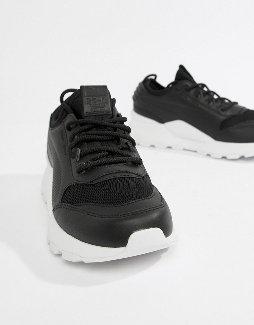 Lyst - PUMA Rs-0 Sound Black Sneakers in Black 7fece02a1