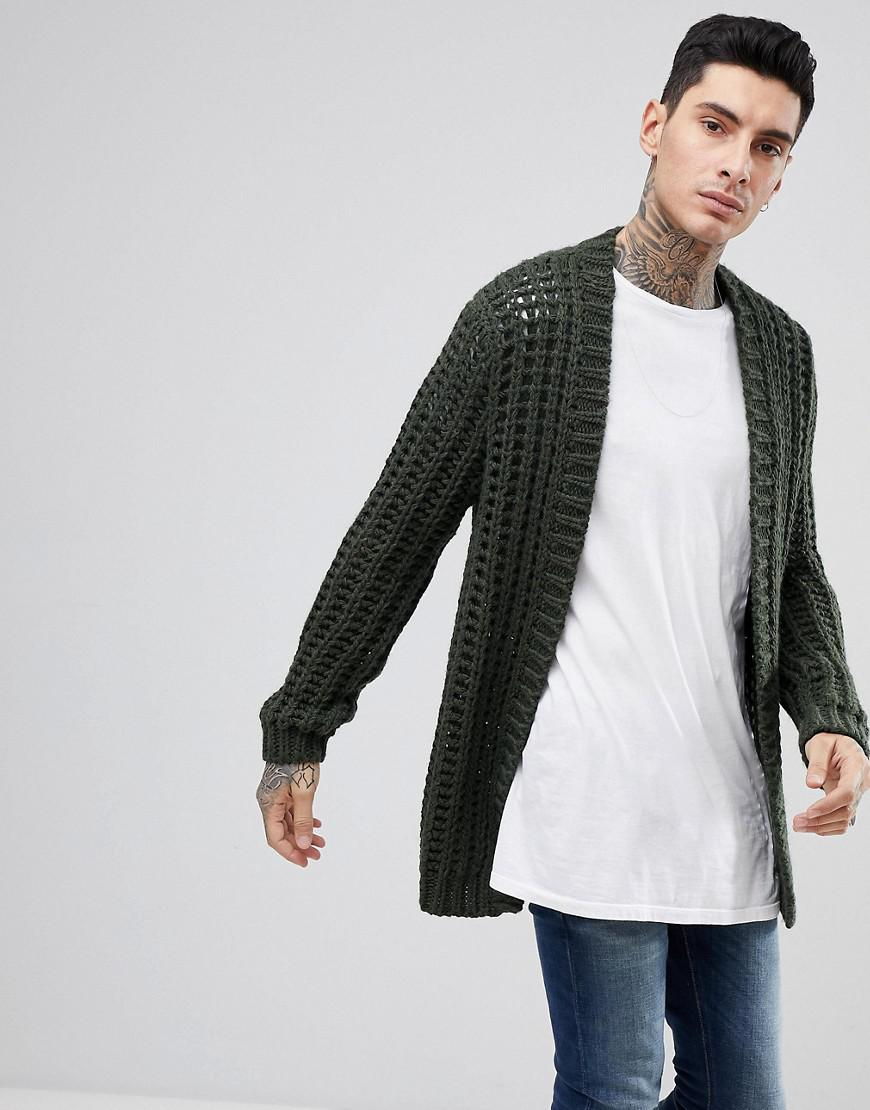 Great Deals Buy Cheap Latest Collections Textured Cardigan In Beige - Ecru Asos Factory Outlet Sale Online Find Great Cheap Online kAya0