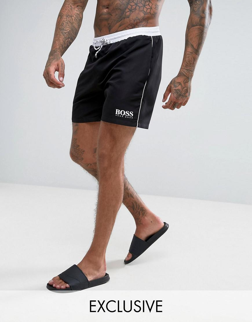 c1afa92e89 BOSS - Black By Hugo Star Fish Swim Shorts Exclusive for Men - Lyst. View  fullscreen