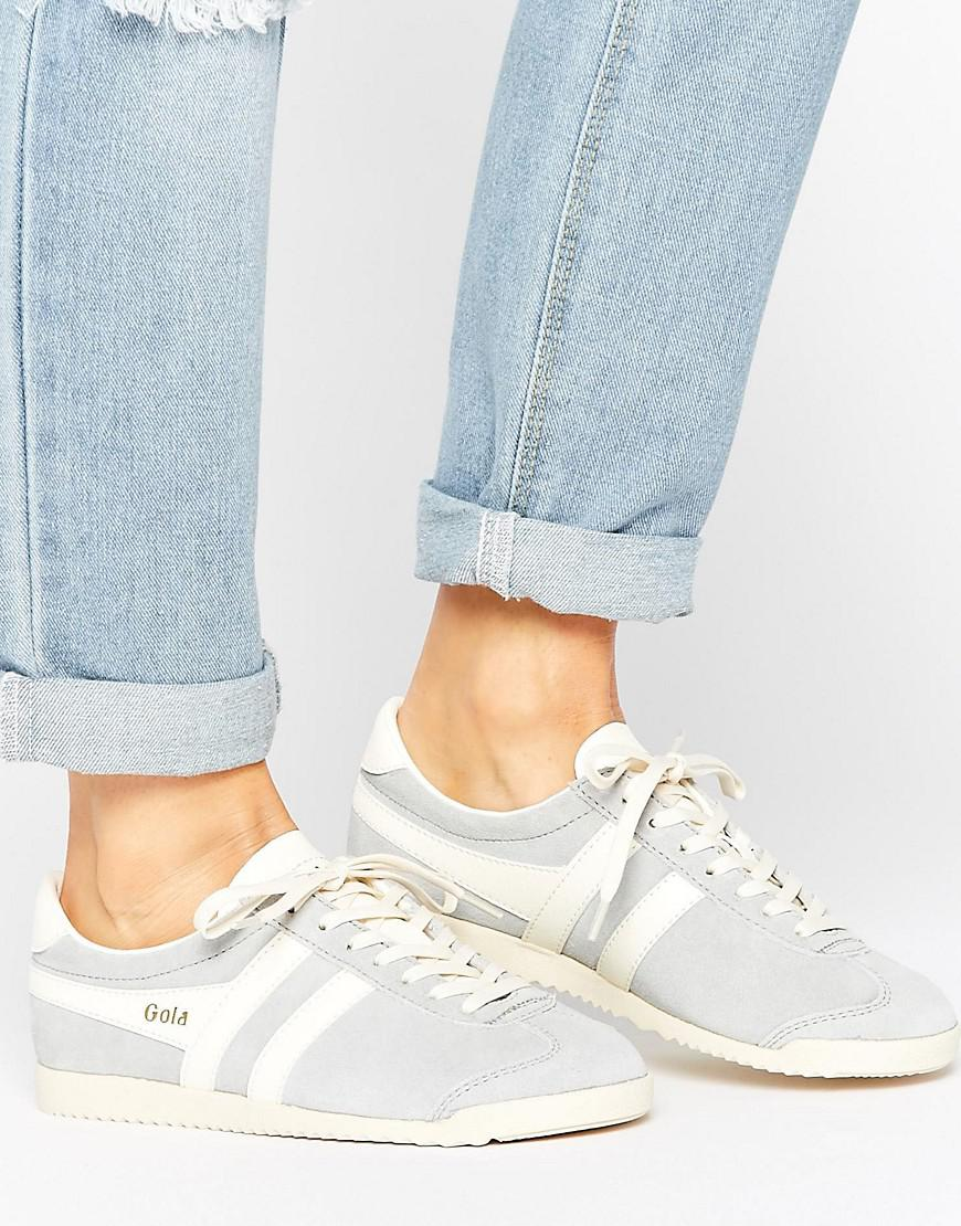 455e37babe7 Gola Bullet Suede Pale Blue Sneakers in Blue - Lyst
