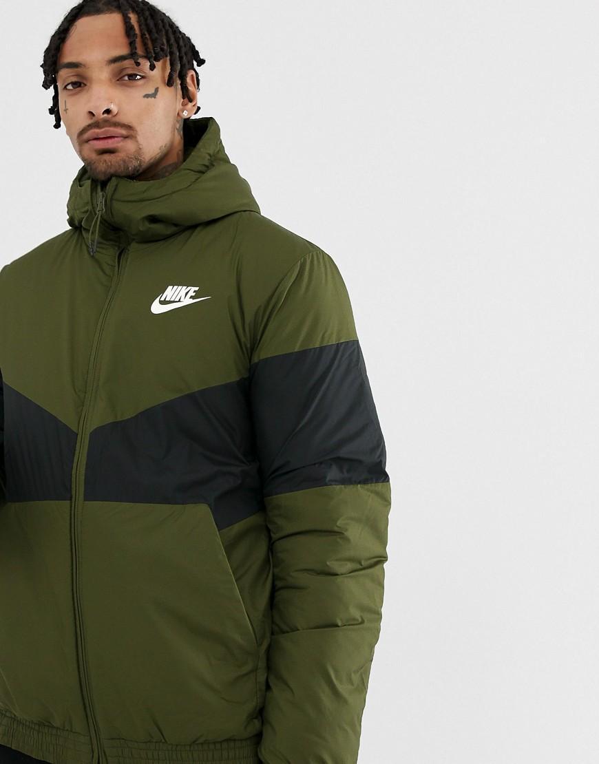 Nike Windbreaker In Green 928861-355 in Green for Men - Lyst a6c303230a9