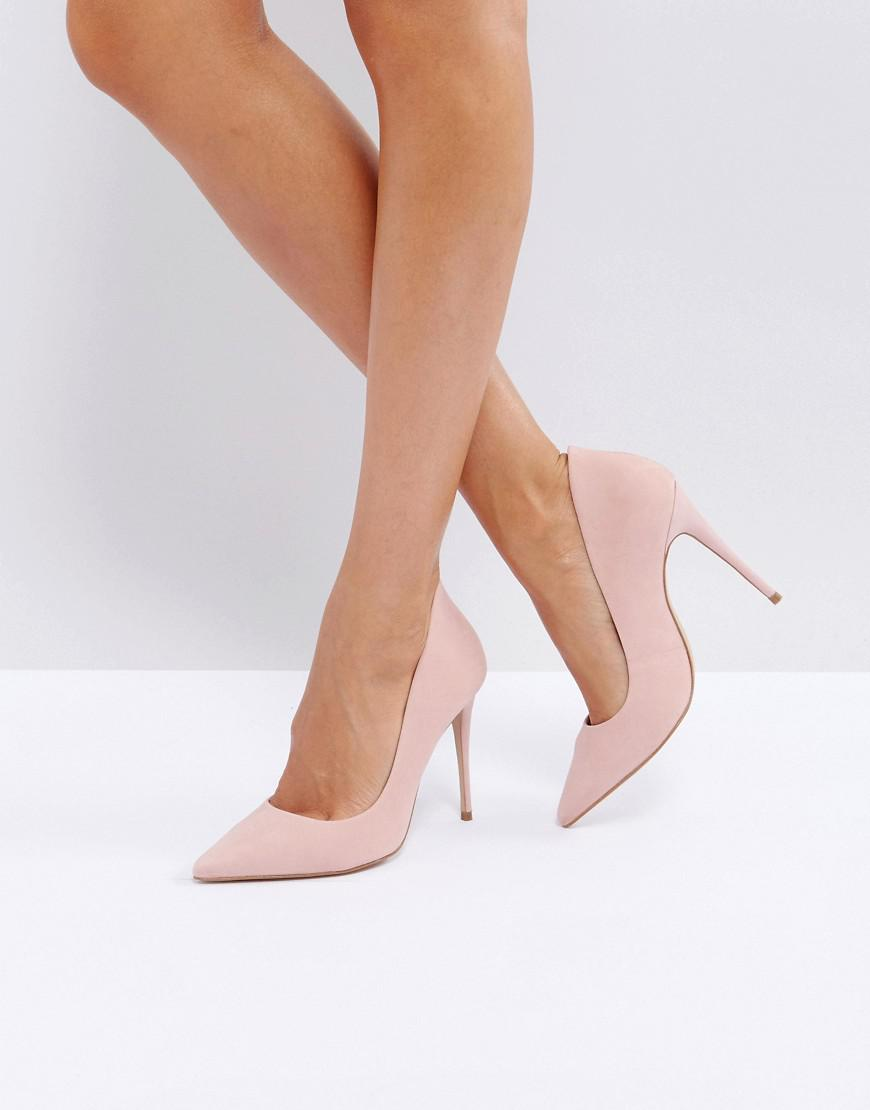 fe33a0a62df1 ALDO Cassedy Blush Point Court Shoes in Pink - Lyst