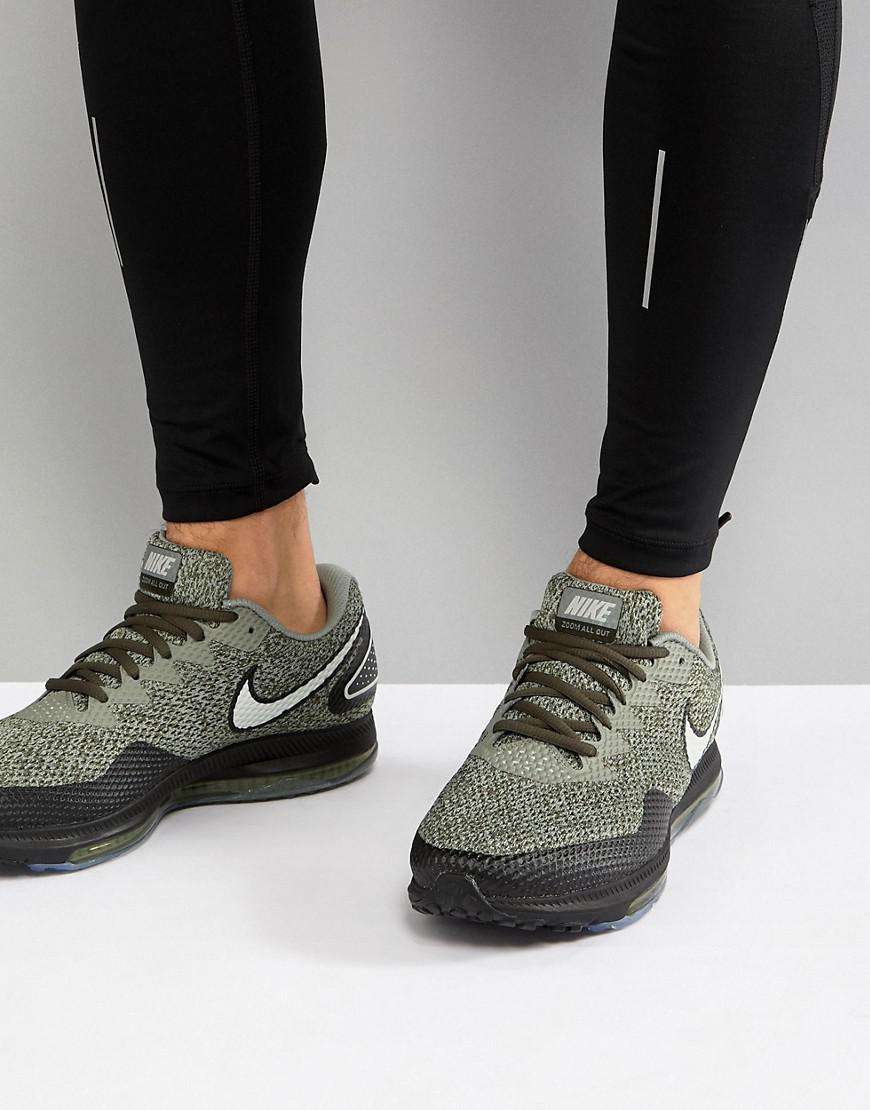 brand new 08500 ad67f Nike Zoom All Out Low 2 Trainers In Khaki Aj0035-300 in Green for ...