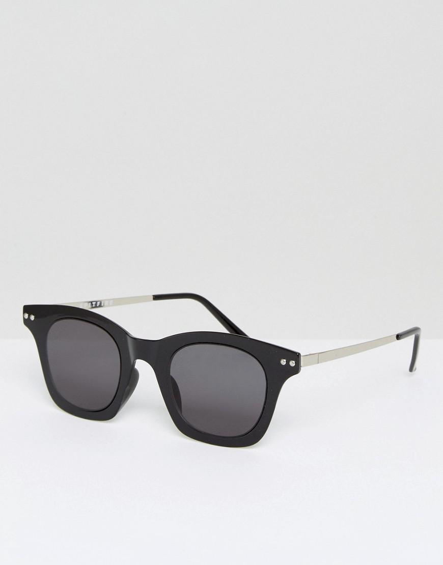 8456ad5f5c63 Spitfire Omnium Square Sunglasses In Black in Black for Men - Lyst