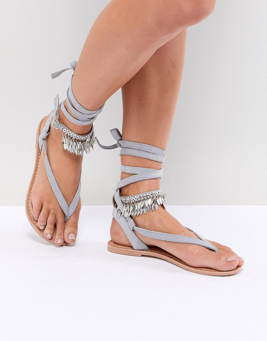 shopping online outlet sale DESIGN Fastrack Tie Leg Sandals new arrival for sale SjoWh