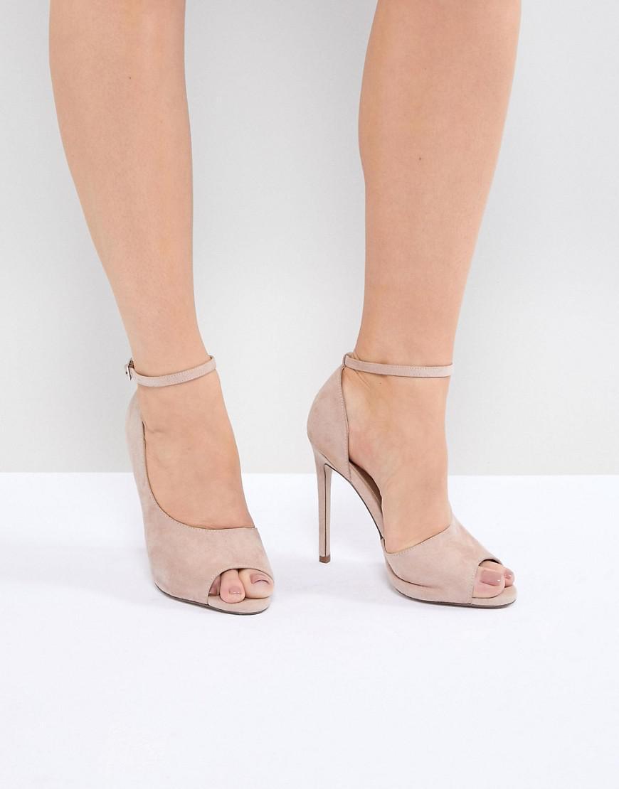 efc145d06780 Lyst - ASOS Pippin High Heels in Pink