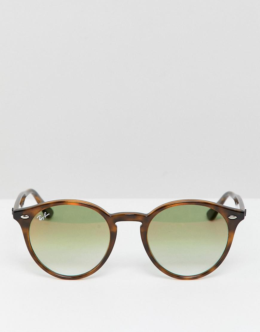 8d96786e7c Ray-Ban 0rb2180 Round Sunglasses in Brown for Men - Lyst