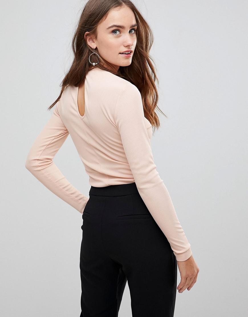 Huntr Keyhole Long Sleeved Top - Black Finders Keepers Cheap Sale Hot Sale Manchester For Sale Cheap Sale In China yWn7xS7