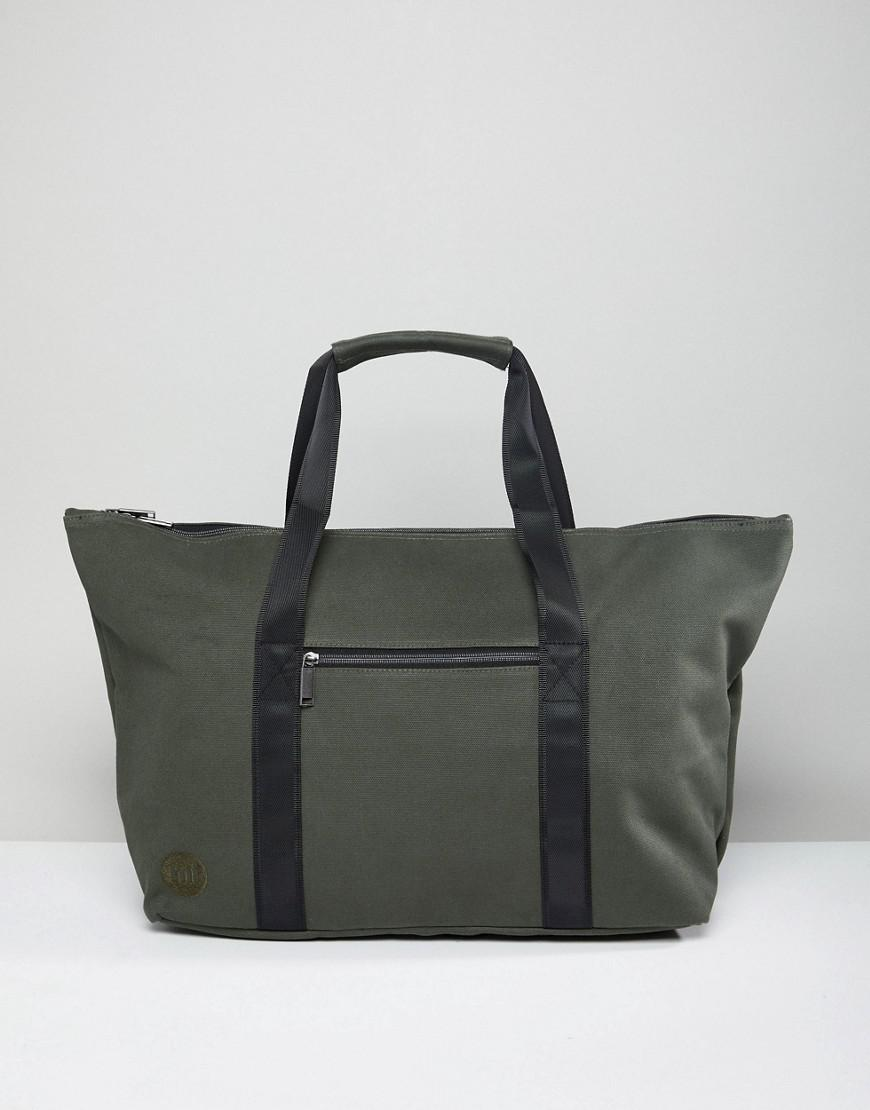 Lyst - Mi-Pac Carryall Canvas Weekend Bag In Khaki in Green for Men 29b9a6d996fb3