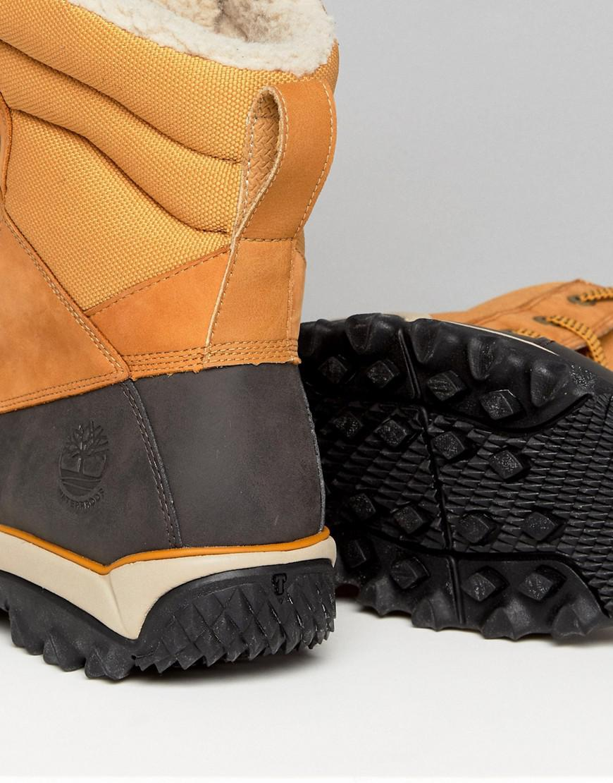 Timberland Rime Ridge Snow Boots in Brown for Men - Lyst e7db643dc
