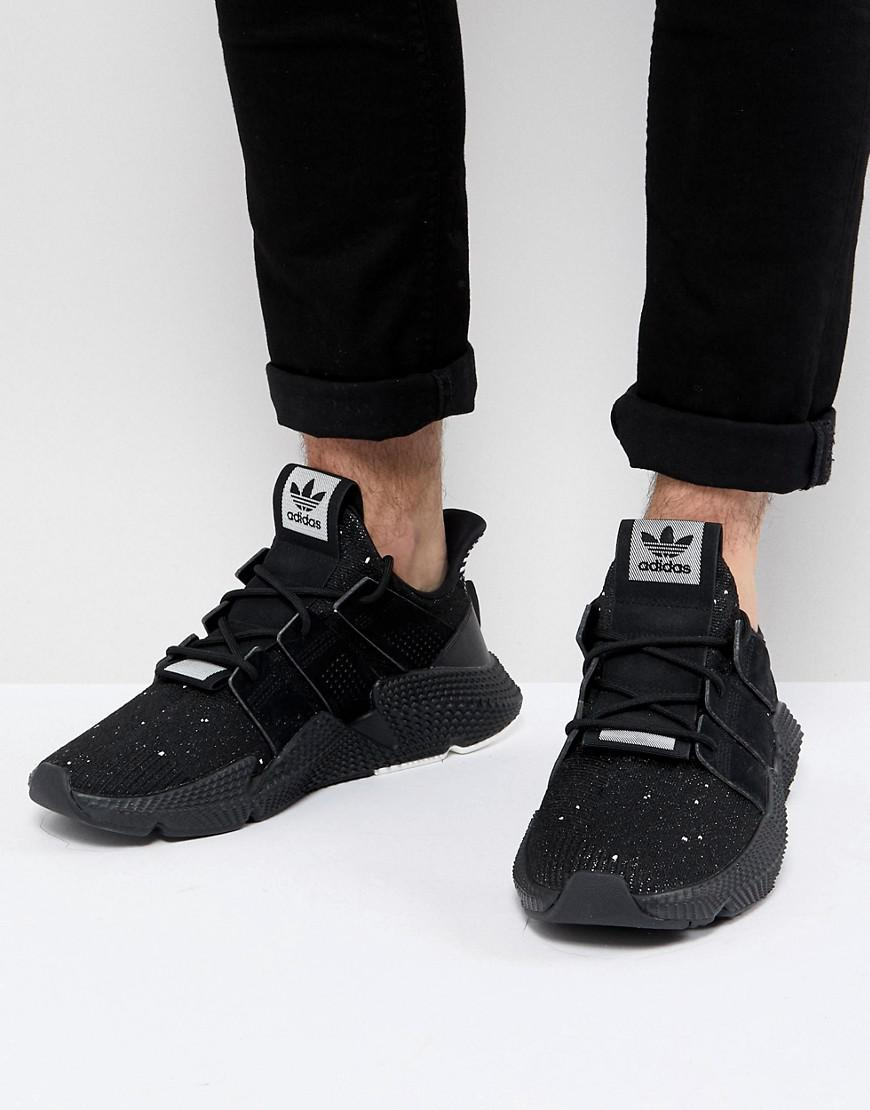 adidas originals prophere trainers in black b37453