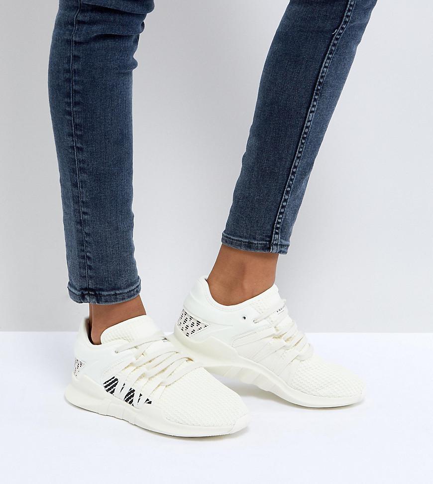96c3e67690b2 Lyst - adidas Originals Eqt Racing Adv Sneakers In Cream