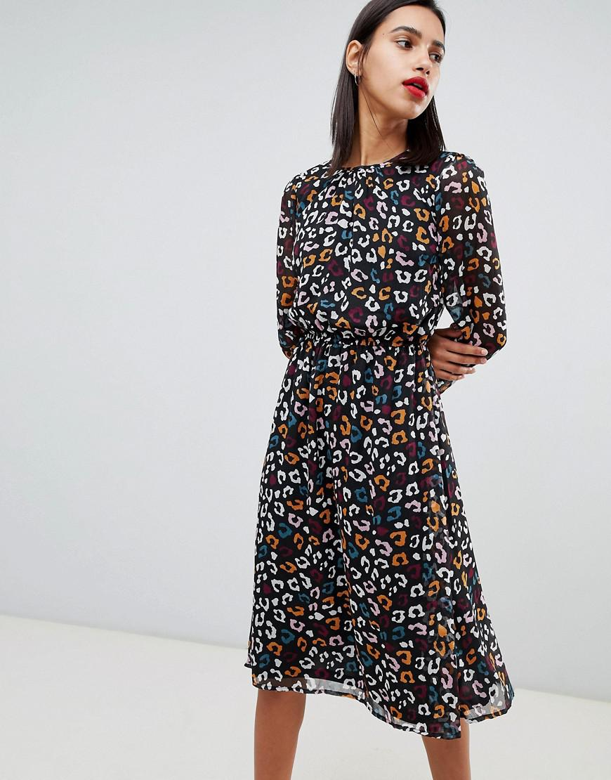 Y.A.S. Women s Tippa Animal Print Dress 9bc31c2c3
