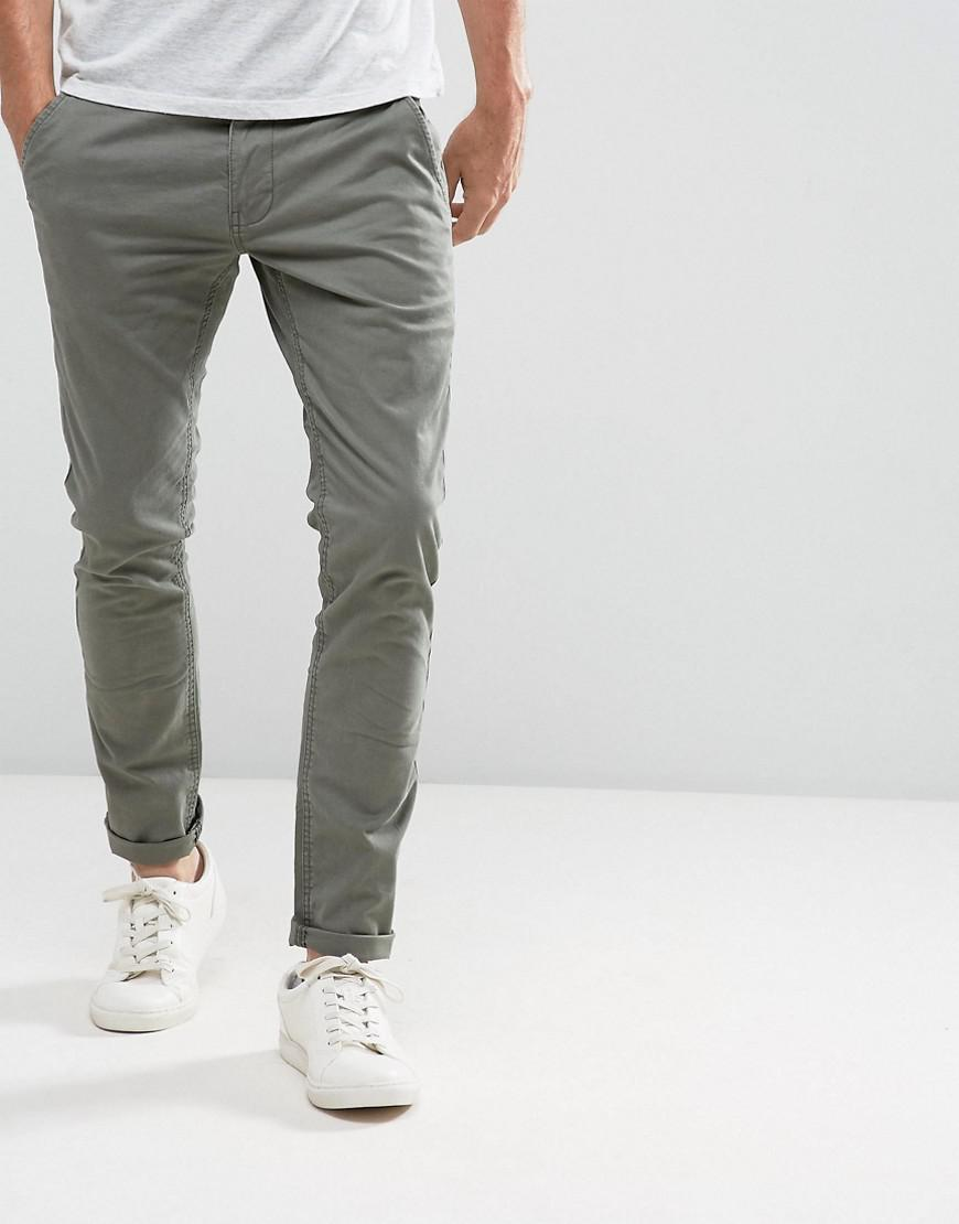 Green Wqxpa4g4x For Skinny Esprit Fit Chino Lyst Men In qCdzZC