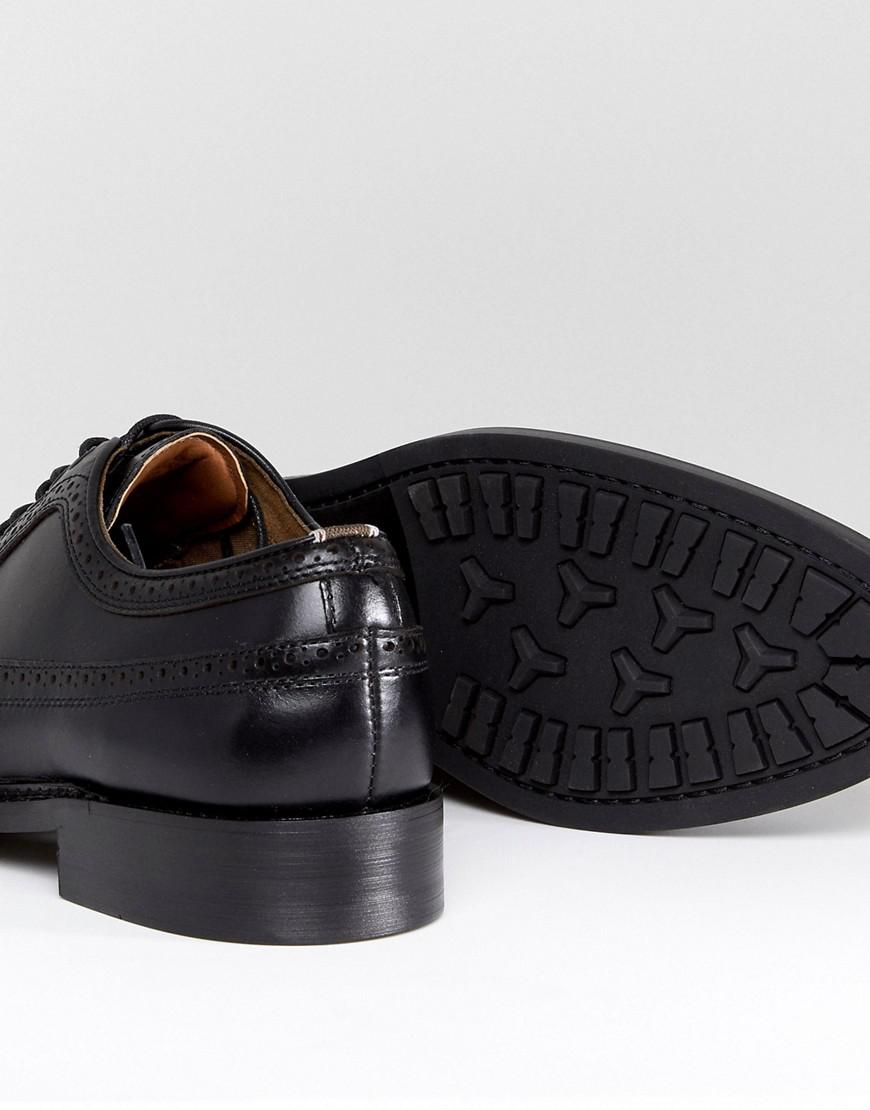 Branton Leather Brogue Shoes In Black - Black Aldo kF32O6XR23