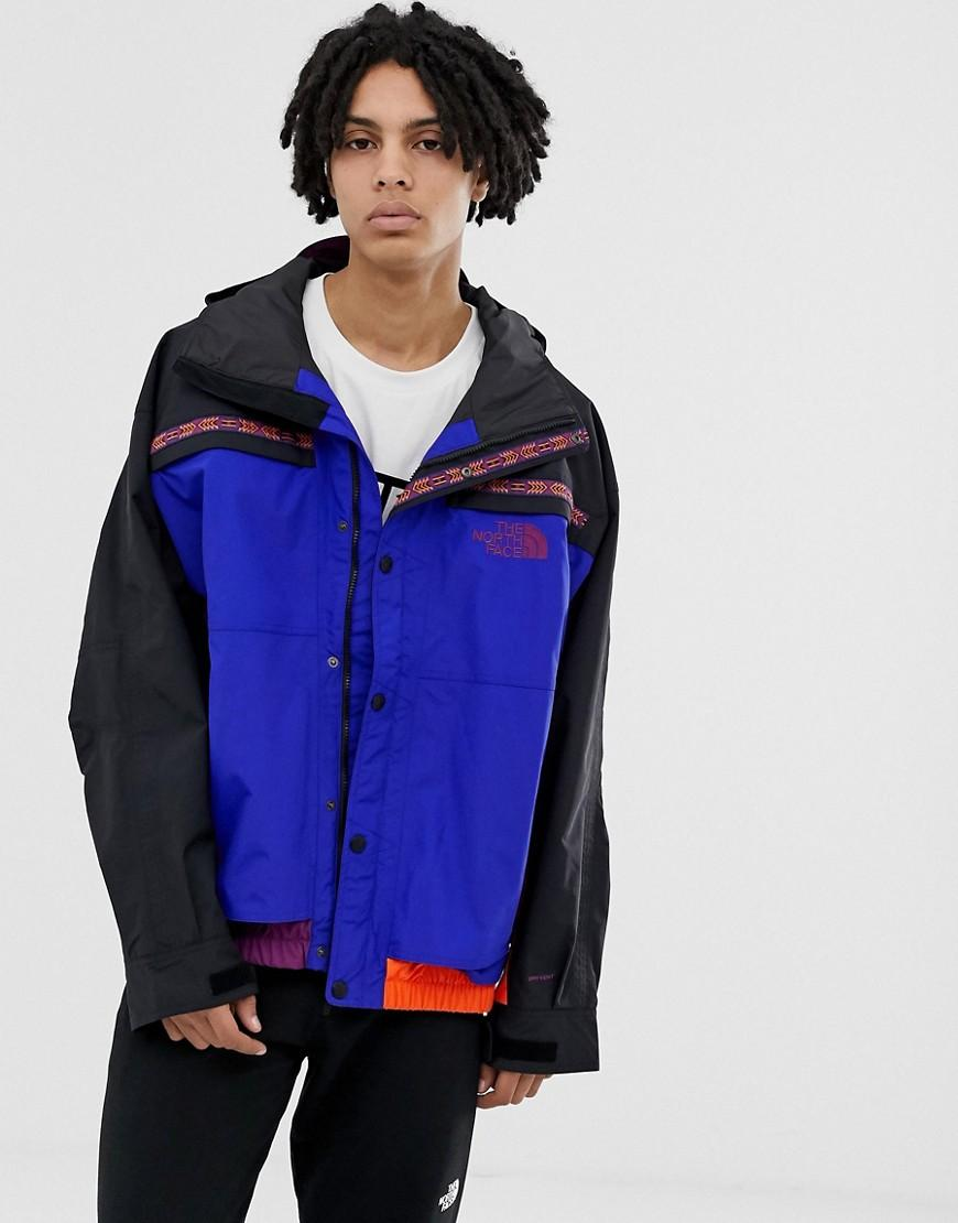 6d545b384838 Lyst - The North Face 92 Rage Retro Rain Jacket In Aztec Blue in ...