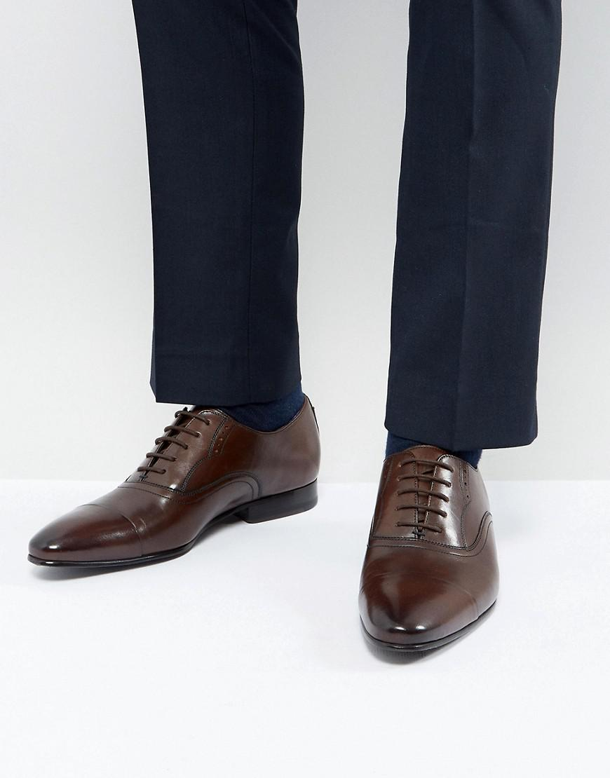 Ted Baker Murain Leather Oxford Shoes In